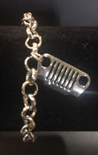 Jeep Charm Bracelet Silver