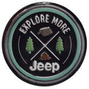 JEEP EXPLORE MORE EMBOSSED TIN MAGNET