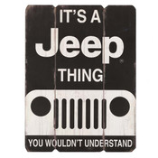 IT'S A JEEP THING WOOD WALL ART