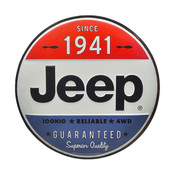 JEEP SINCE 1941 TIN BUTTON