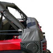 Rugged Ridge, 12104.51 - Soft Top Storage Boot, Black Diamond, 07-14 Jeep Wrangler (JK) 4-Door