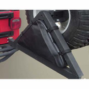 Rugged Ridge, 12801.50 - Triangular Storage Bag for Rugged Ridge Tire Carriers