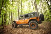 Rugged Ridge, 11620.11 - Flat Flare and Fender Liner Kit, 07-14 Jeep Wrangler