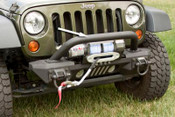 Rugged Ridge, 11541.14 - Over-rider Hoop, XHD Aluminum Bumpers, 07-15 Jeep Wrangler