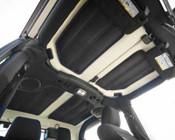 Rugged Ridge, 12109.04 - Hardtop Insulation Kit, 4-Door, 11-14 Jeep Wrangler (JK)
