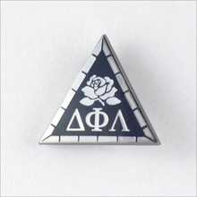 ΔΦΛ Sterling Silver Membership Badge
