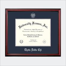 ΘΔΧ Certificate Frame