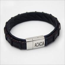 Acacia Leather Bracelet