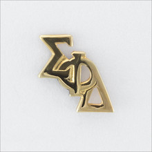 ΣΦΔ Monogram Lapel Pin