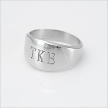 TKE Brotherhood Ring with Letters