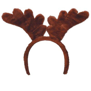 Soft-Touch Reindeer Antlers