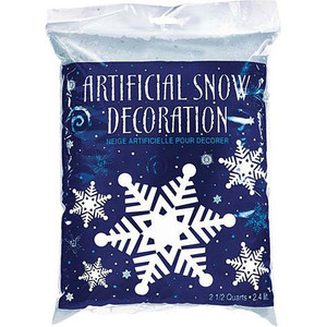 Artificial Snow Flurries Confetti Decorations