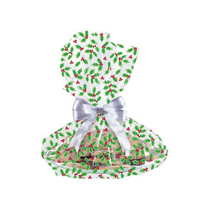 Holly Leaves Cookie Tray Bags