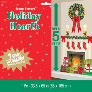 Holiday Hearth Plastic Scene Setters Add-Ons