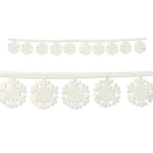 Fabric Snowflake Garlands