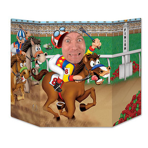 Horse Racing Photo Prop