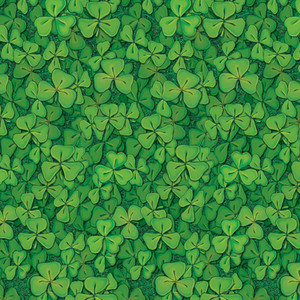 Holiday Seasonal Decorative Accessories Clover Field Backdrop