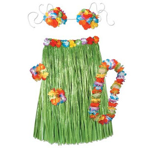 Child Complete Hula Outfit