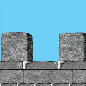 Stone Wall Border Party Accessory