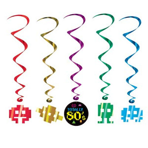 80's Whirls Party Accessory