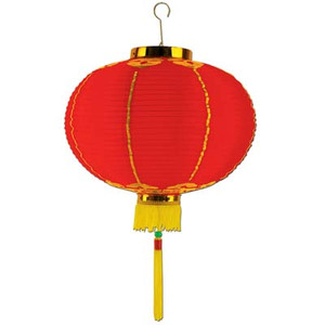 Good Luck Lantern with Tassel
