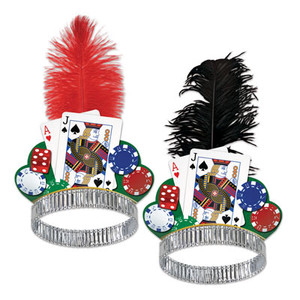 Casino Night Tiara Party Accessory