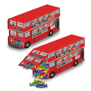 Double Decker Bus Centerpiece