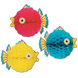 Bubble Fish Tissue Decoration