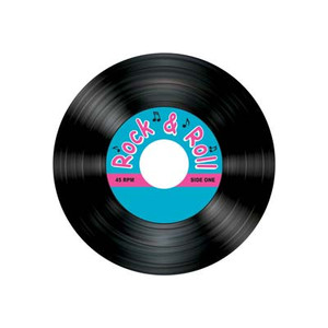 Rock & Roll Record Coasters
