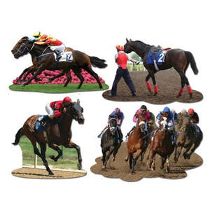 Horse Racing Cutouts
