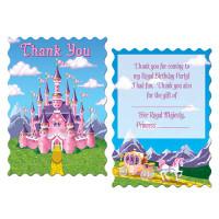 Princess Party Thank You Notes