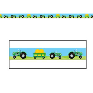 Tractor Party Tape Party Accessory