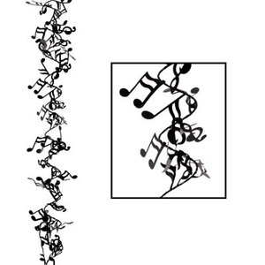 Gleam 'N Flex Musical Notes Garland