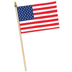 """American Flag - Rayon, 4"""" x 6"""""""