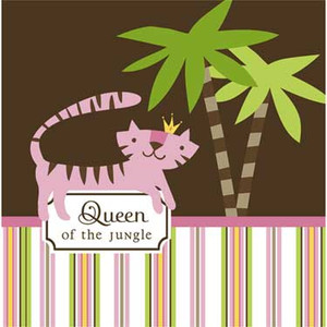 16 Queen of the Jungle Lunch Napkins