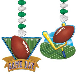 Game Day Football Danglers