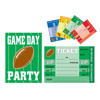 Game Day Football Invitations