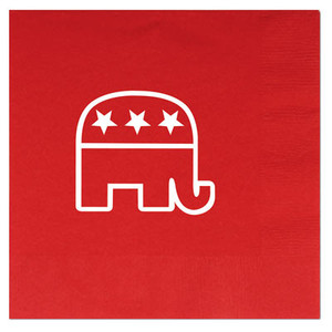 Red Republican Luncheon Napkins