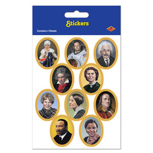 Faces In History Stickers