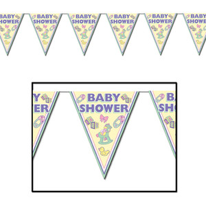 Cuddle-Time Pennant Banner