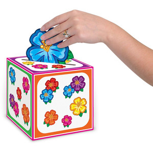 "Hula Baby Card Box 6"" x 6"""