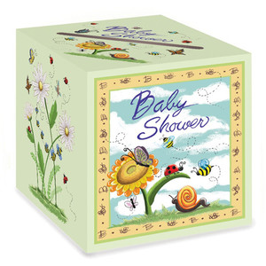 Baby Shower Card Box