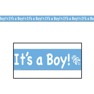 It's A Boy! Party Tape