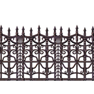 Creepy Fence Plastic Border