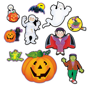 Assorted Halloween Cutouts