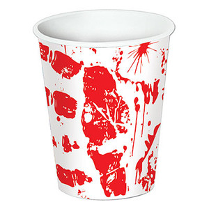 Bloody Handprints 9 Oz Cups