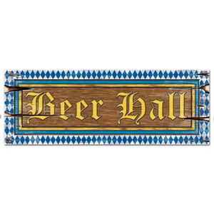 Beer Hall Sign Board