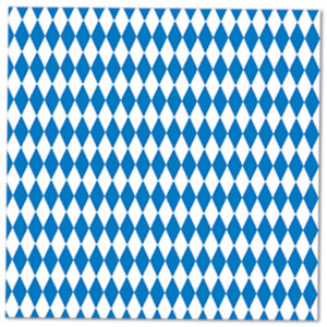 Blue & White Luncheon Napkins
