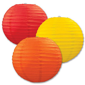 Decorative Paper Lanterns, 9-1/2-Inch