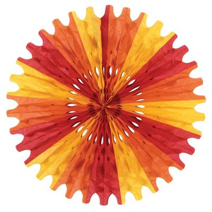 Decorative Tissue Fan, 25-Inch
